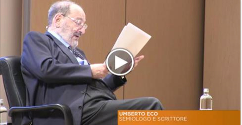 Lectio Magistralis Eco - Repubblica.it