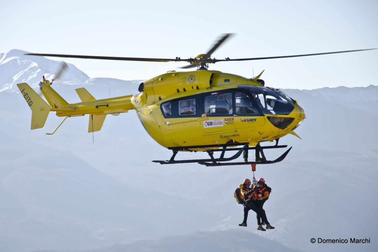 Elicottero 118 Modello : Il servizio di soccorso sanitario con elicottero base