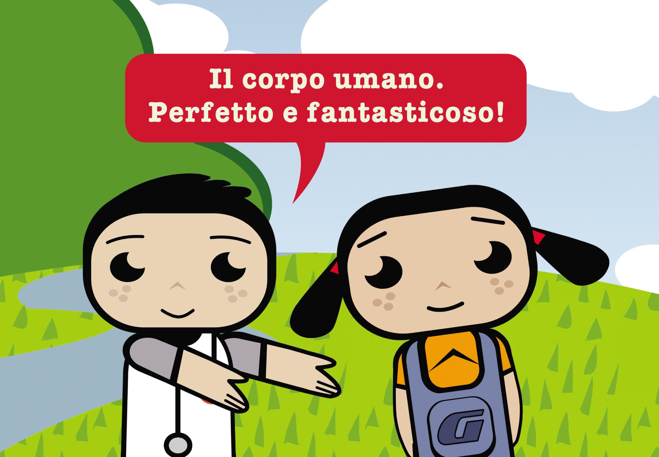 Un cartone animato per la campagna sulla donazione degli