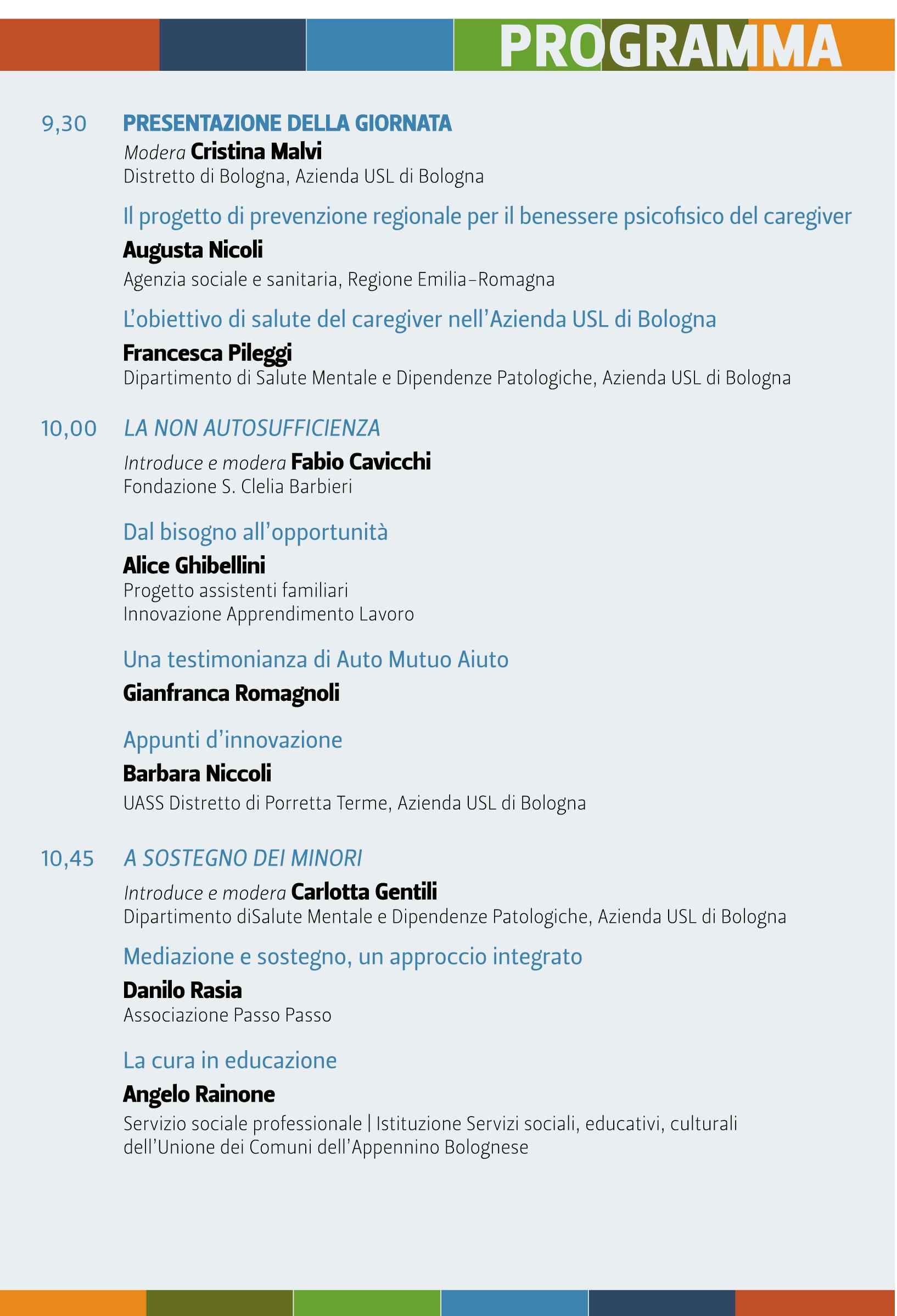 A Bologna La Giornata Del Caregiver Una Comunita Si Cura Ordine Professioni Infermieristiche Bologna