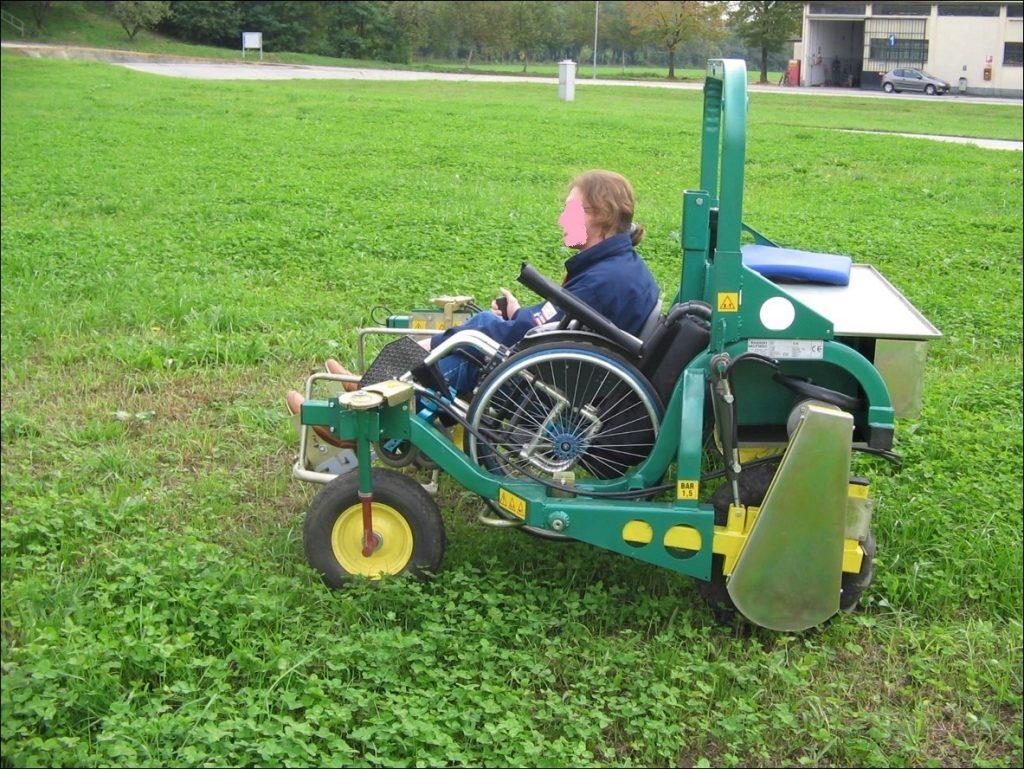 Sedie A Rotelle Roma : Disabilità dal crea arriva la sedia a rotelle da campagna a