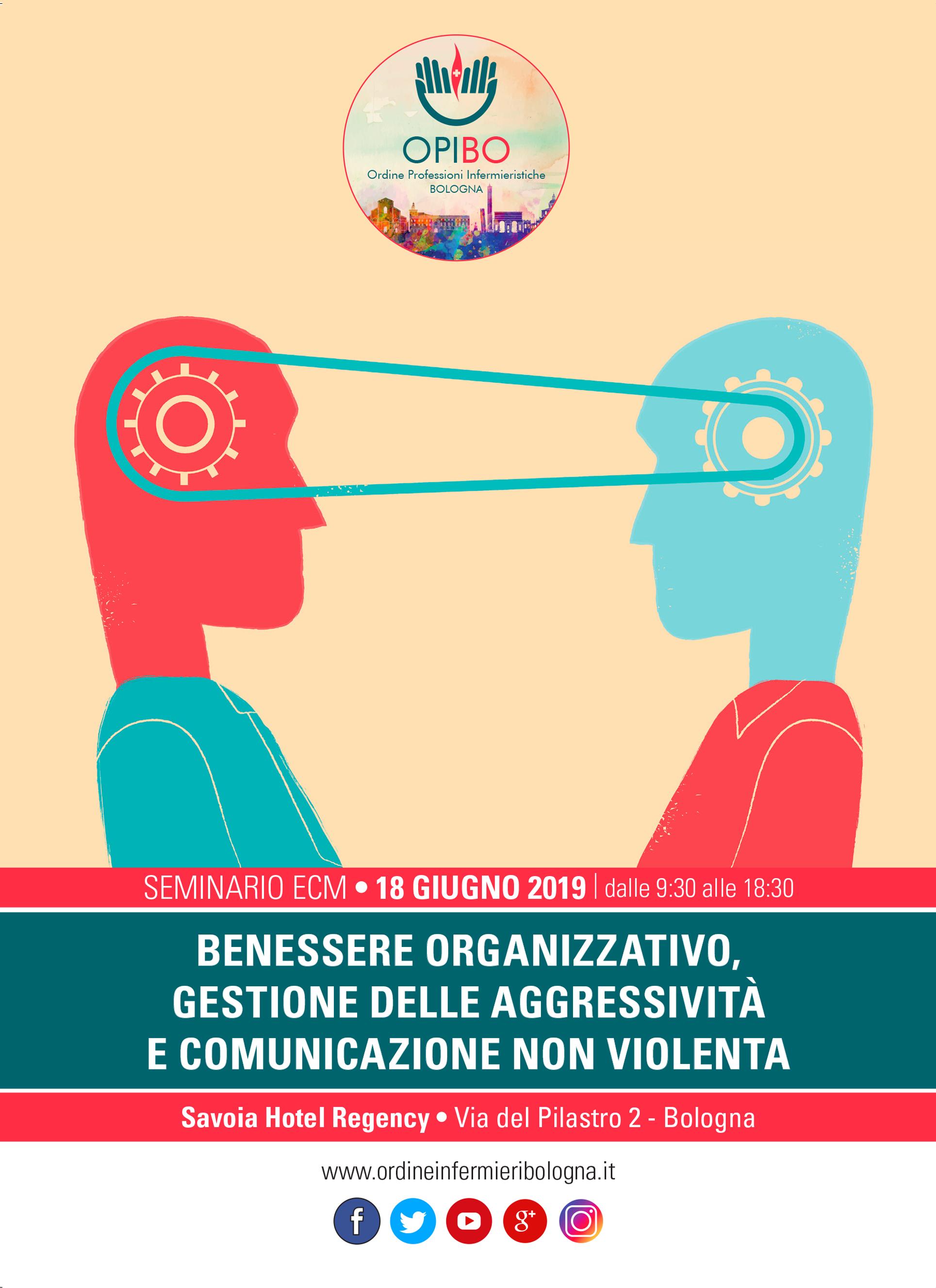 Seminario Opibo Benessere Organizzativo Gestione Delle Aggressivita E Comunicazione Non Violenta Ordine Professioni Infermieristiche Bologna